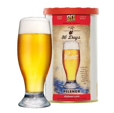 Picture of Thomas Coopers 86 Days Pilsner