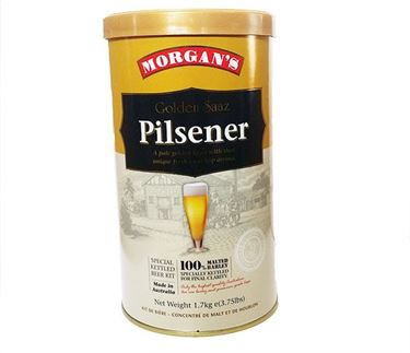 Picture of Morgans Premium  Golden Saaz Pilsener
