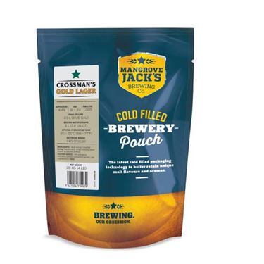 Picture of Mangrove Jacks Traditional Lager Pouch 1.8kg (Crossmans Gold)