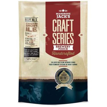 Picture of Mangrove Jacks Craft Chocolate Brown Ale Pouch 2.2 kg