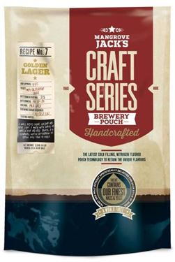 Picture of Mangrove Jacks Craft Golden Lager Pouch 2.2 kg