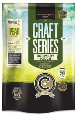 Picture of Mangrove Jacks Pear Cider pouch 2.4 kg