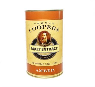 Picture of Coopers  Amber 1.5kg Can