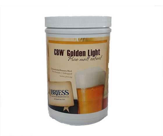 Picture of Briess CBW Golden Light 1.5kg Can