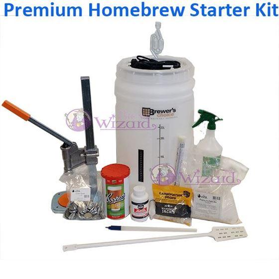 Picture of New Premium Starter Kit for homebrew