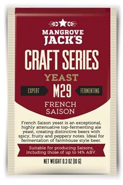 Picture of Mangrove Jack French Saison M29 Yeast