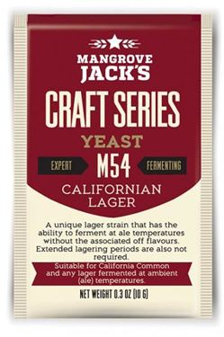 Picture of Mangrove Jack California Lager M54 Yeast
