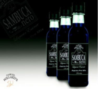 Picture of Samuel Willards Premix BLACK SAMBUCA