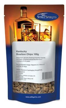 Picture of Still Spirits  Kentucky Bourbon Chips 100g