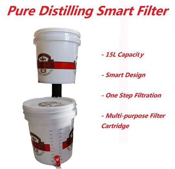 Picture of Pure Distilling Smart Carbon Filter 15L