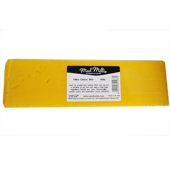 Picture of Cheese Wax Yellow 450g