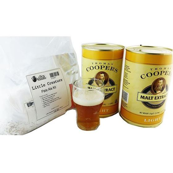 Picture of Little Creature Style Pale Ale Recipe Kit
