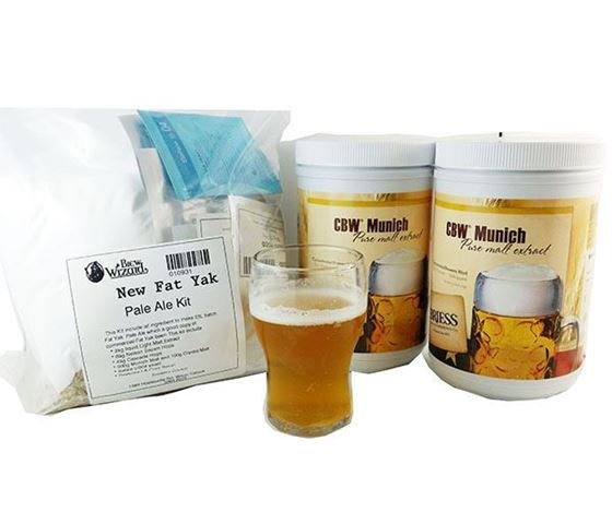 Picture of Fat Yak Style Pale Ale Extract Recipe Kit