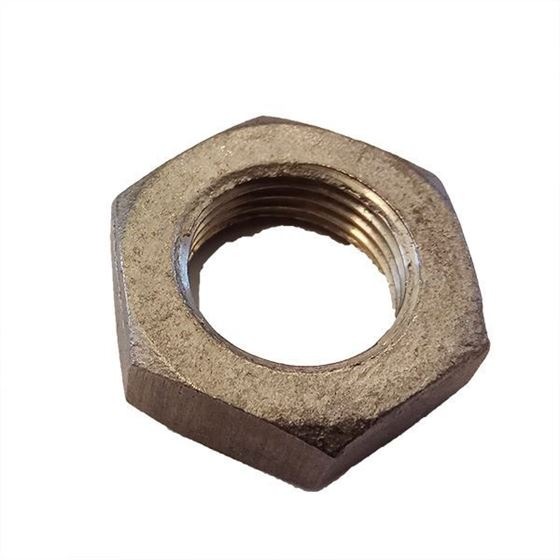"Picture of 1/2"" Stainless steel screw nut 8mm thickness"