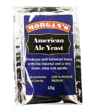 Picture of  Morgans American Ale Yeast 15g