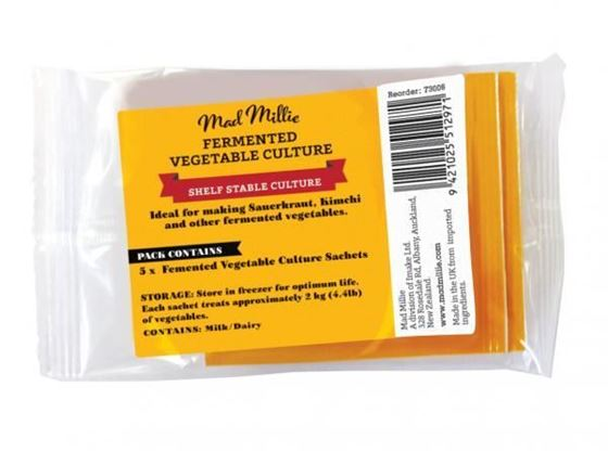 Picture of 	 Mad Millie Fermented Vegetable Culture Sachets x 5 [FREEZER]