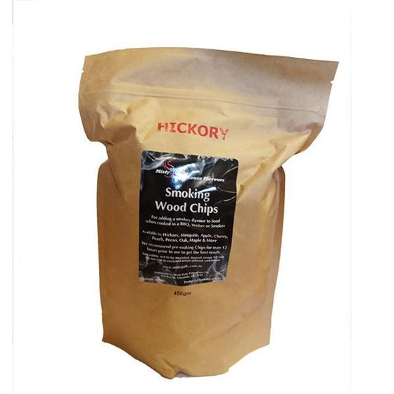 Picture of Smoking Wood Chips 450g - Hickory