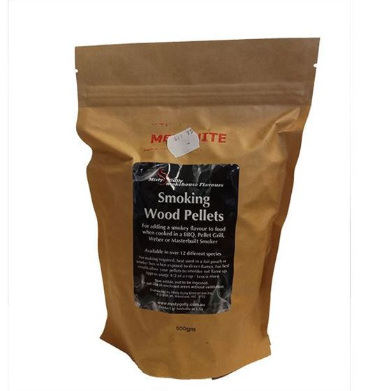 Picture of Smoking Wood Pellets 500g - Mesquit