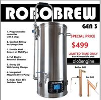 Picture of New 35L Robo Brew Gen3 Single vessel Brewry
