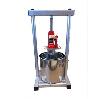 Picture of 7L Full S.S Press with Hyraulic Jack Aid