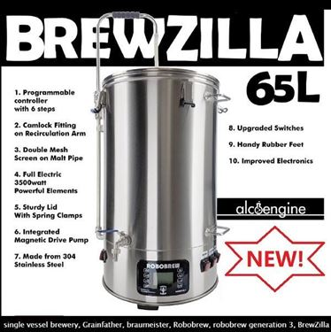 Picture of 65L Brewzilla (Robobrew) All-In-One brewery