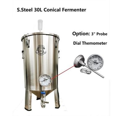 Picture of New Kegking 30L Stainless Steel Conical Fermenter