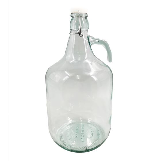 Picture of 5L glass Demijohns with Swing lids