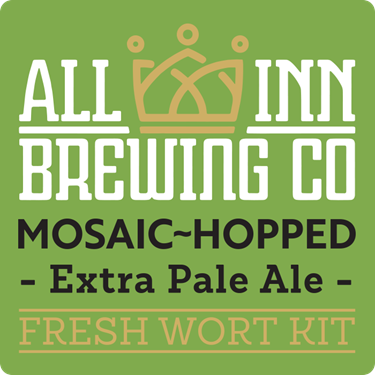 Picture of All-Inn Fresh Wort Kit - Mosaic Hop Extra Pale Ale