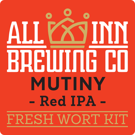 Picture of All-Inn Fresh Wort Kit - MUTINY RED IPA