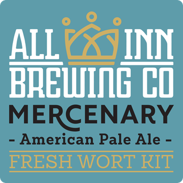Picture of All-Inn Fresh Wort Kit - Mercnary American PA