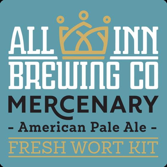 Picture of All-Inn Fresh Wort Kit - Mercnary American PA