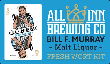 Picture of All-Inn Fresh Wort Kit - Bill F Murray Malt Lager