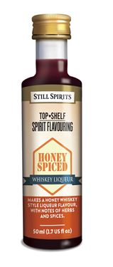 Picture of Still Spirits Top Shelf Honey Spiced Whiskey Liqueur