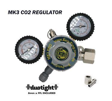 Picture of KegKing MKIII CO2 Two Gauge Regulator