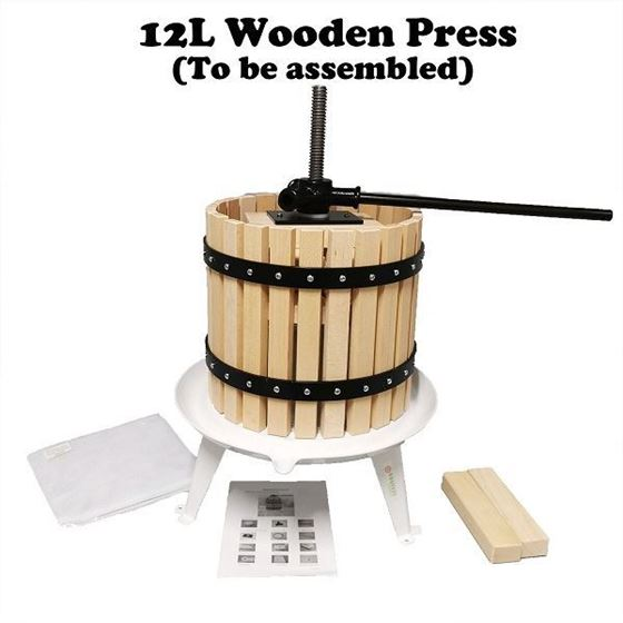 Picture of 12L Wooden Frame Fruit Press (To be assembled)