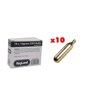 Picture of 10 x16g CO2 Gas Cartridge