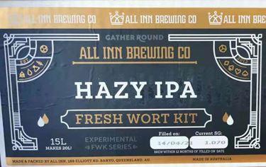 Picture of All-Inn Fresh Wort Kit - HAZY IPA Kit