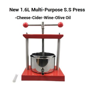 Picture of 1.6L T Bar Stainless Steel Press