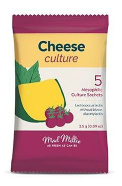 Picture of Mad Millie New Cheese culture sachets x 5
