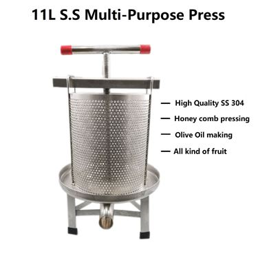 Picture of 11L Full Stainless steel S304 Multi-purpose Press