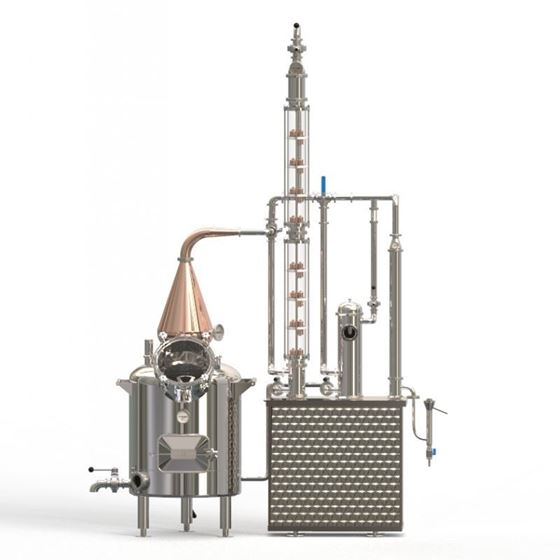 """Picture of 120L Craft Distillery  System 8  x 4"""" Copper Plate - D1"""