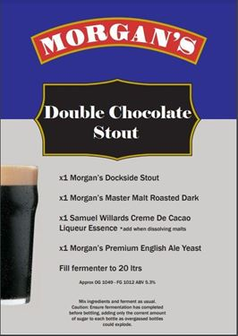 Picture of Morgans Recipe Kit - Double Chocolate Stout