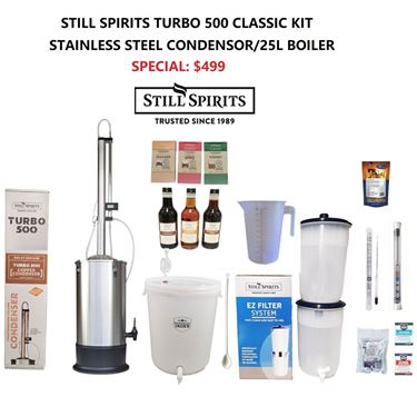 Picture of Classic Still Spirits T500 Stainless steel Condensor Distillery Kit - Special Price