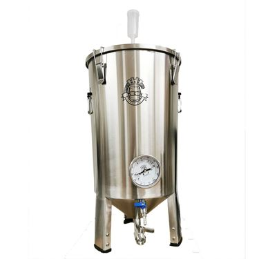 Picture of New Kegking 30L Stainless Steel Conical Fermenter - With Thermometer