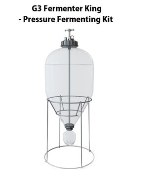 Picture of New 35L Fermentasaurus Conic Fermenter Kit - G3