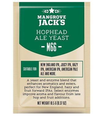 Picture of Mangrave Jack Hop Head M66 Yeast
